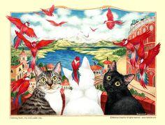 Marie Cat Graphics - mariecat.com