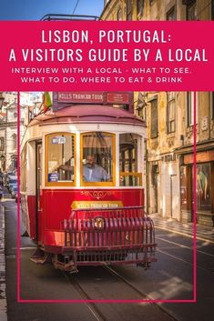 Tips for travel in Portugal! The best things to do in Lisbon, Portugal. The food, beaches, nightlife, restaurants, shopping, markets, architecture, trams... Get visitor information from a local as part of my city guide regular feature Interview with a local #portugal #lisbon #lisbonportugal #lisboncityguide #lsibonvisitorinformation #portugaltravel #portugalfood
