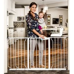 Regalo 58-Inch Extra WideSpan Walk Through Baby Gate, Pressure Mount with 3 Included Extension Kits ** Insider's special review you can't miss. Read more  : Dog gates
