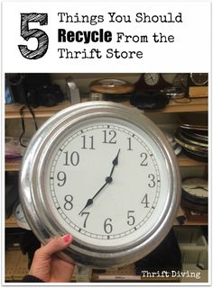 5 things you should recycle and upcycle from the thrift store - Thrift Diving