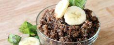 Chocolate Banana Breakfast Quinoa Recipe | Greatist