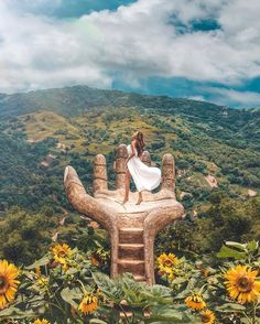 Sirao, Cebu City, Philippines via Travel Picture, Cebu City, Beautiful Places To Travel, Wonderful Places, Bali Travel, Travel Usa, Travel Aesthetic, Honeymoon Destinations, Travel Goals