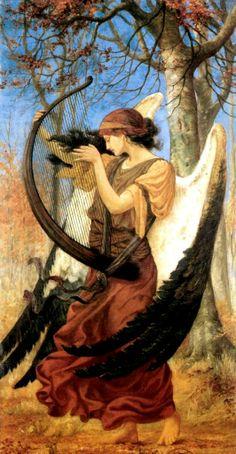 Charles Sims (1873–1928) - Titania's Awakening, 1896