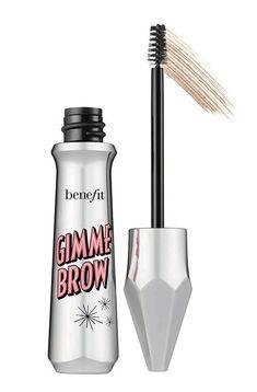 Benefit Cosmetics Gimme Brow+ Volumizing Eyebrow Gel - full_make_up_pintennium Benefit Brow, Benefit Cosmetics, Benefit Makeup, Best Eyebrow Makeup, Best Eyebrow Products, Eye Makeup, Beauty Products, Makeup Tips, Makeup Box