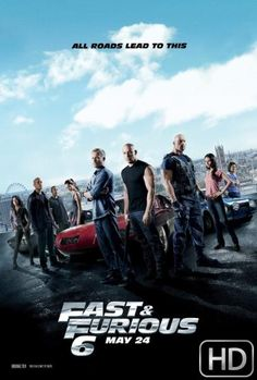 Fast and Furious 6 BRRip 720p dual audio 800MB