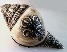 Tibetan conch shell...