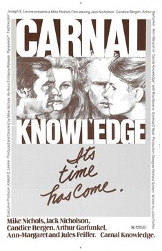 1971 movie poster & still | Carnal Knowledge (1971)