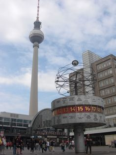 Reloj mundial - Berlín - Alemania