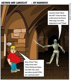 Lancelot? What happened?