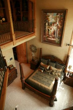 Master Bedroom with Loft, Sitting, and Personal deck with amazing views.