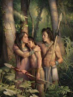 """""""They Did Not Doubt"""" by Joseph F. Brickey. In the Book of Mormon, soldiers find strength in their faith in Jesus Christ. The soldiers credit their mothers for teaching them about Christ and having faith and hope."""