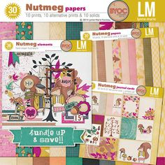 The Lilypad :: Free Products :: Nutmeg freebie