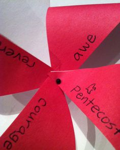Pars Caeli: Pentecost Pinwheels