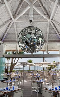 The Sea Grill restaurant, located in the beautiful grounds of Puente Romano Beach Resort & Spa Marbella, the Restaurant additionally boasts stunning views over the Mediterranean Sea.