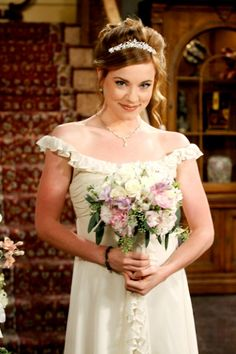 Days Melanie in her wedding dress to wed Phillip molly -days of our lives wedding as melanie.
