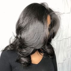 Pretty Hairstyles, Straight Hairstyles, Braided Hairstyles, Love Hair, Gorgeous Hair, Ideas Bandana, Pressed Natural Hair, Curly Hair Styles, Natural Hair Styles