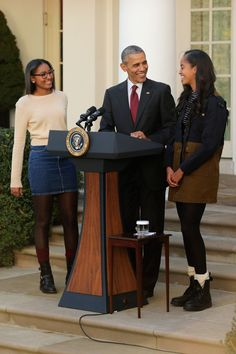 The Style Evolution Of Sasha And Malia Obama