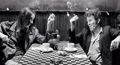 Perfect movie for enjoy your coffee and cigarette. #coffeeandcigarettes directed by #jimjarmusch