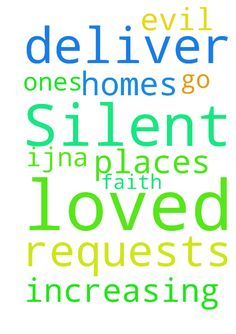 Lord, I ask the Silent requests. Deliver me, loved - Lord, I ask the Silent requests. Deliver me, loved ones, homes amp; places we go from evil. Thank You for our increasing faith, IJNA. Posted at: https://prayerrequest.com/t/N17 #pray #prayer #request #prayerrequest
