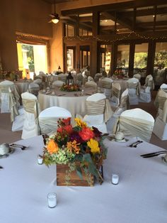 October Wedding - Terrace Patio