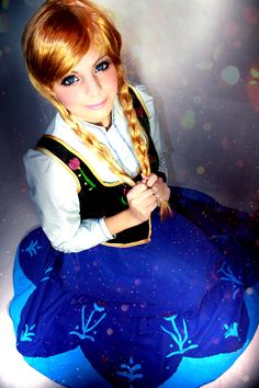 Beautiful Frozen cosplay. Anna! - 9 Anna Cosplays