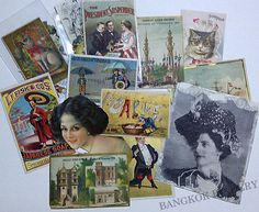 Victorian trade cards, My love