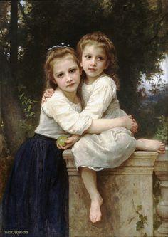 Bouguereau 'Two Sisters'(Deux Soeurs) 1901