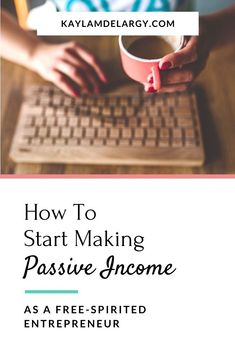 Passive Income Ideas For Women - As a free-spirited entrepreneur, I want to share opportunities for female entrepreneurs to make passive income online that actually works! If you have an interest in how to become a successful business woman, this blog article is for you… #beabossbabe Make Side Money, Make Quick Money, Make Money From Home, Entrepreneur, Business Woman Successful, Passive Income Streams, Work From Home Tips, Business Opportunities, Free Spirit