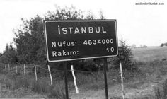 1980s İstanbul. The population of Istanbul in 2012 was 13 854 740.