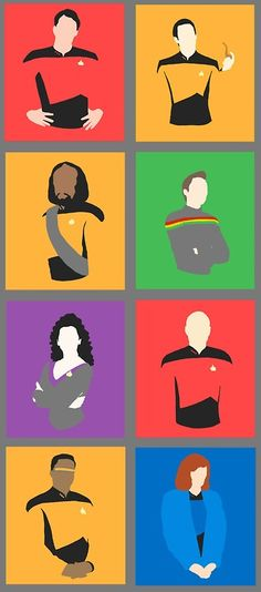 """TNG: The absolute best of ST. <3  (*I don't know about """"Best"""" but it certainly is close to my heart.  -kmh*)"""