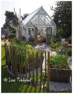 Gardeners turn to mini greenhouse gardening when they need to create a specific microclimate or lack space for a larger. the Mini greenhouse can be used for protected crops such as tomatoes, peppers, cucumbers and aubergines. Greenhouse Kits For Sale, Small Greenhouse, Greenhouse Ideas, Pergola Ideas, Wooden Greenhouses, Green House Design, British Garden, Different Plants, Gardens