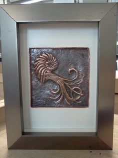 chasing and repousse on copper...just gorgeous and I would imagine that it's pretty big !