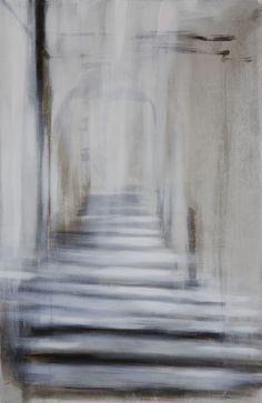 Riikka Soininen Derelict Buildings, New Art, Modern Art, Inspire, Artists, Abstract, Grey, Artwork, Painting