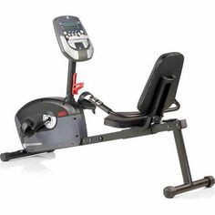 Exercise Recumbent Stationary Bike Home Fitness Training Workout Equipment Magnetic Resistance 6 Programs 8 Display Feedback Readings Results Speed RPM Resistance Time Distance, Calories Heart Rate. Maximum Weight: 275 lbs Is Assembly Required: Y Condition: New Manufacturer Part Number: 100332 Model: 100332 Fitness Goal: Increase Cardio Brand: Schwinn Features: Calories , Time , RPM , Speed , Resistance , Distance , Pulse Assembled Product Dimensions (L x W x H): 61.00 x 16.50 x 40.50…