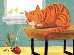 Really wanna do a PB with #cats! #colour_collective #art