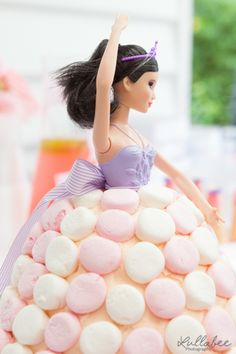 Woman's Weelky Birthday Cake Book | Dolly Varden Cake | Marshmallow Cake | Kids Party | Princess Party