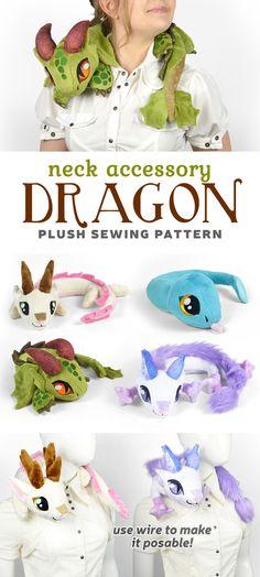 Plushie Patterns, Animal Sewing Patterns, Sewing Patterns Free, Free Sewing, Sewing Toys, Sewing Crafts, Sewing Projects, Craft Projects, Sewing Stuffed Animals
