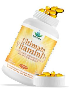 1 Vitamin D3 5000 IU Cholecalciferol  All Natural Lanolin Source  GMO Free  High Potency Supplement for Bone Heart Muscle Immune System Health and Vitality  100 Softgels * Continue to the product at the image link. (This is an affiliate link)