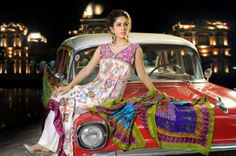 Designer Shirin Hassan New  Block Prints Formal Wear Dresses 2012 Collection_01