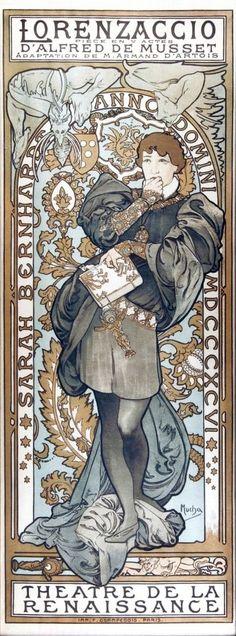 Alfons Maria Mucha / Alfred de Musset - Lorenzaccio