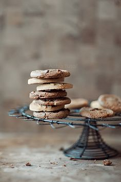The English used the term 'biscuit' for a small tea cake or scone, which in the U.S. translates as 'cookie'.