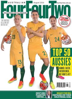 August #fourfourtwo Out now!