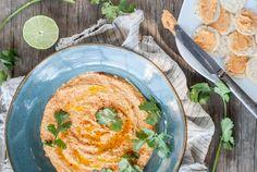 Thai Coconut Curry Hummus Recipe
