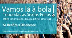 Vamos lá à Bola! Free soccer tickets