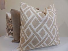 Kravet Decorative Pillow Cover  Portfolio Treads by ZourraDesigns