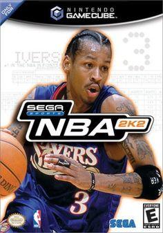 NBA for Nintendo Gamecube. Arcade Basketball, Basketball Video Games, Basketball Art, Ever After High Games, Gamecube Games, Original Nintendo, Playstation 2, Verse, I Am Game