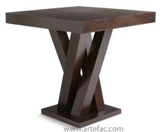 Dining / Accent Tables :: Dining Tables :: SR-29872 Counter Table in Espresso - ARTeFAC USA