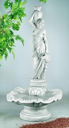 Rebecca At Well Garden Fountain Sculpture