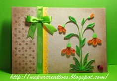 nupur creatives: Flower Card Set
