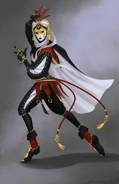 f Bard jester dancer hilvl Lt Armor Cloak Traveler lg Fantasy Character Design, Character Creation, Character Design Inspiration, Character Concept, Character Art, Concept Art, Fantasy Rpg, Medieval Fantasy, Fantasy Artwork
